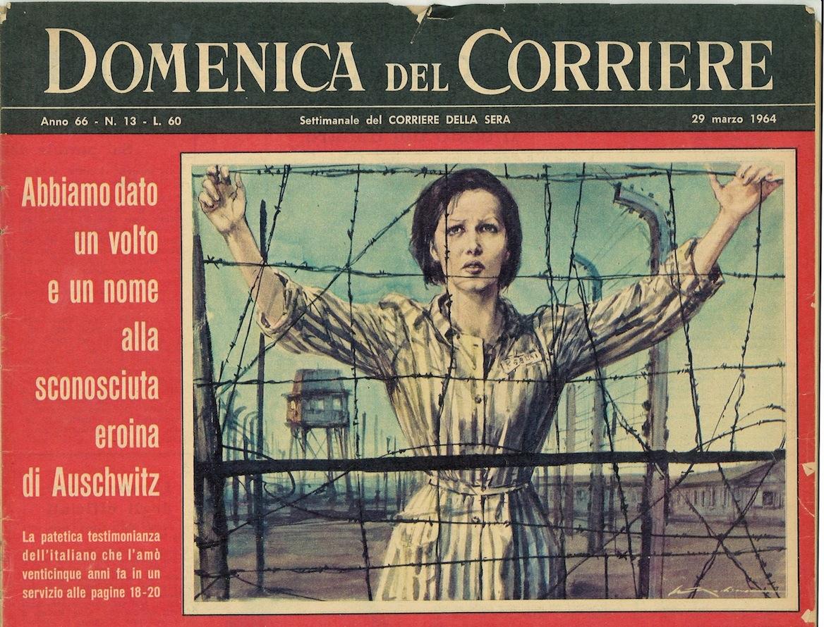 Domenica del corriere holocaust visual archive for Corriere della sera arredamento
